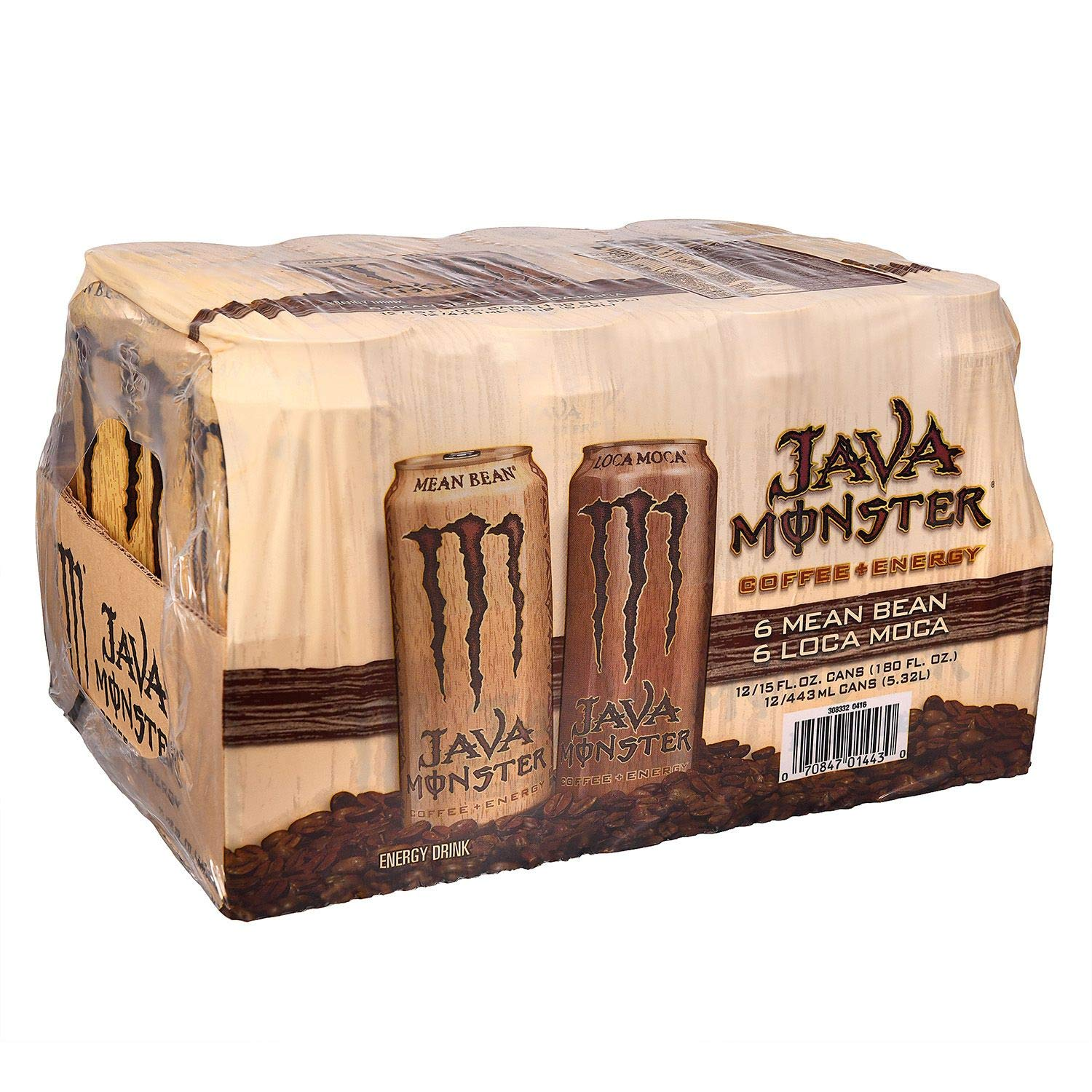 Monster Energy Coffee, Java Variety Pack 15 oz. cans, 12 ct. (pack of 3) A1
