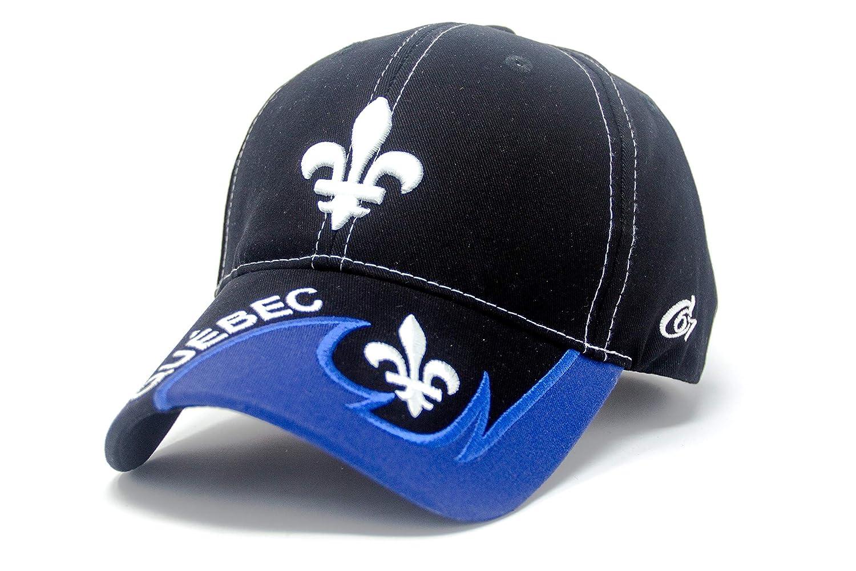 Babazoo Republic Quebec Fleur De LYS Baseball Cap Adjustable Hat