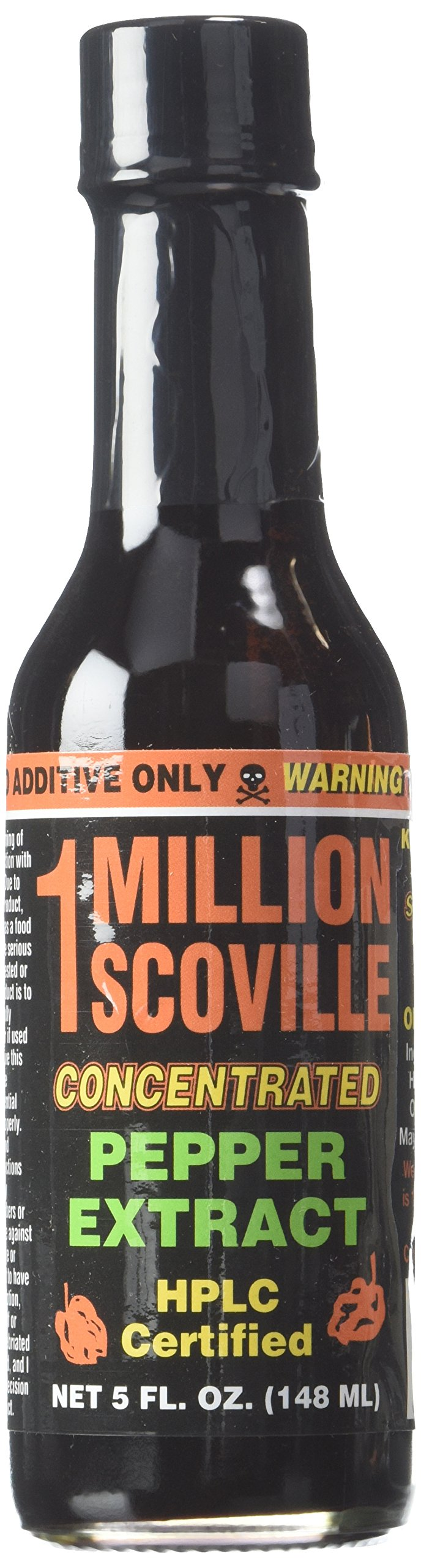 1 Million Scoville Pepper Extract Hot Sauce, 5oz