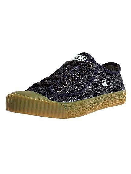 G-STAR RAW Rovulc Denim Low Sneakers, Zapatillas para Mujer: Amazon.es: Zapatos y complementos