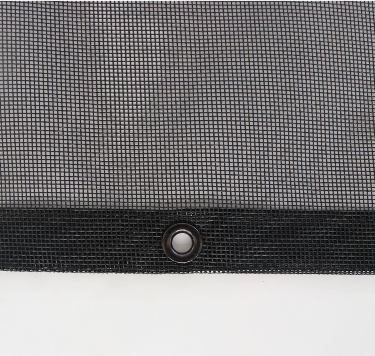 3 Years Limited Warranty Tentproinc Truck Mesh Tarp 9 X 16 No Rust Thicker Brass Grommets Black Heavy Duty Cover Reinforced Double Needle Stitch Webbing Ripping and Tearing Stop