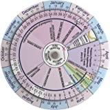 graphic relating to Pregnancy Wheel Printable identify : Being pregnant Wheel and Ovulation Calendar: Wished-for