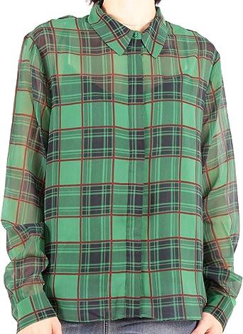 Pepe Jeans Camisa Jerry Verde para Mujer: Amazon.es: Ropa y ...
