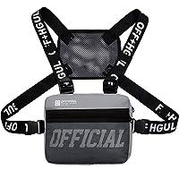 Armiya Universal Hands Free Chest Bag Utility Rig Walkie Talkie Harness Pocket Pack Radio Holster Holder for Men Women
