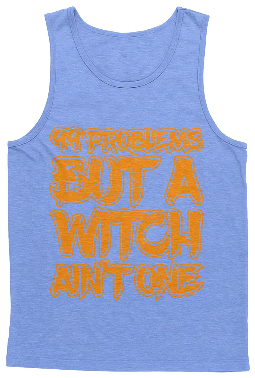 Blittzen Mens Tank Top Witch Aint One