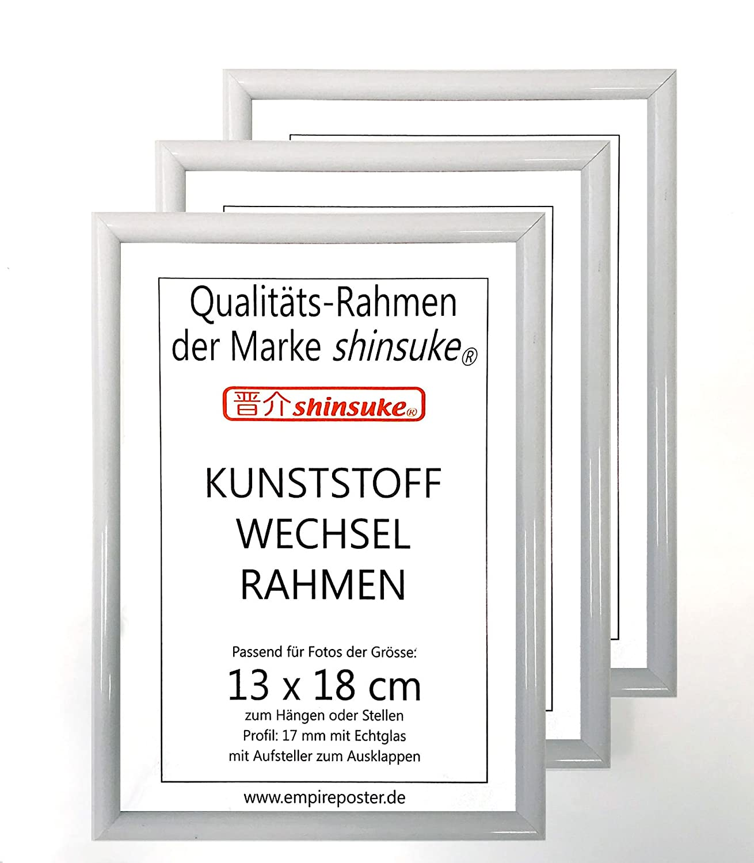 empireposter 3 Stück Wechselrahmen Foto-Rahmen der Marke Shinsuke ...