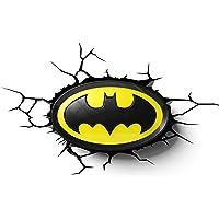 DC Comics 3DLIGHTFX - Lámpara 3D Batman Logo