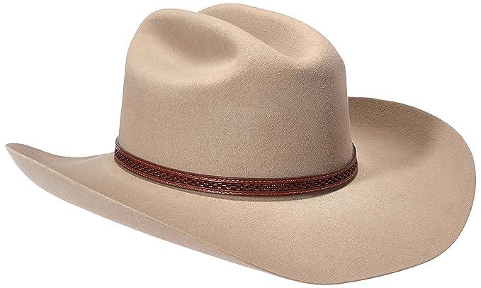 066ce468cdb Amazon.com  Stetson Marshsll 4-X Wool Cowboy Hat  Clothing