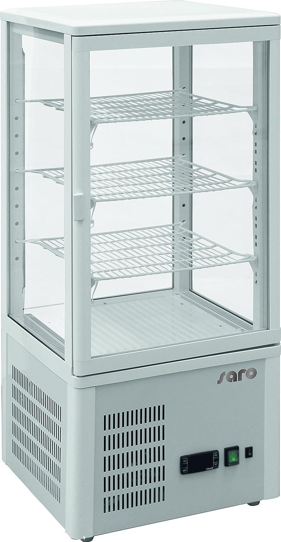 Saro 323 - 3200 SC 78 recirculación nevera vitrina, 77 L, color ...