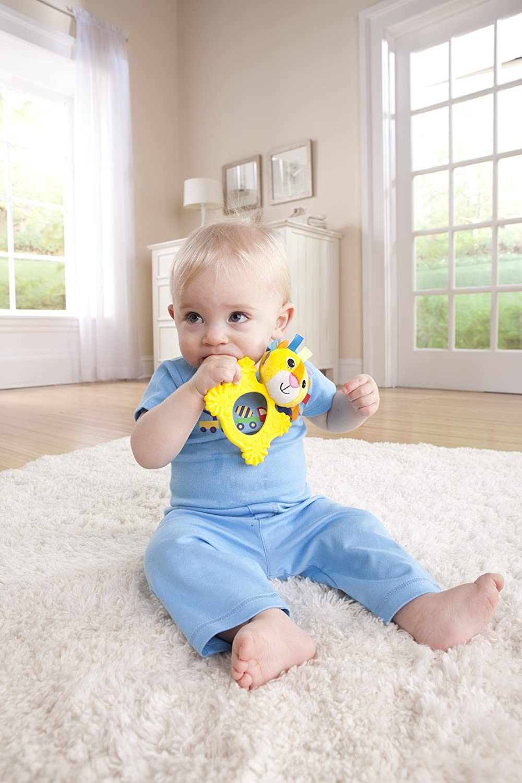 Logan The Lion Teethimal Lamaze Baby Teether Toy