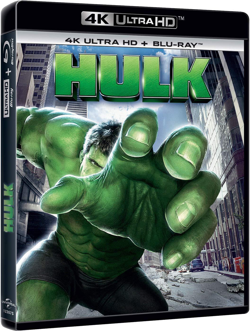 Hulk (4K UHD + BD) [Blu-ray]: Amazon.es: Eric Bana, Jennifer Connelly, Sam Elliott , Ang Lee, Eric Bana, Jennifer Connelly, Universal Pictures, Marvel Enterprises, Valhalla Motion Pictures: Cine y Series TV