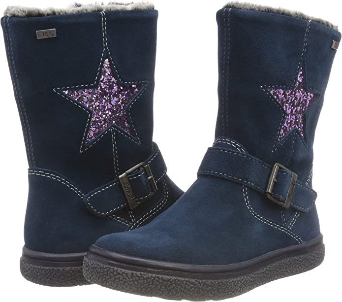 Lurchi Gudy tex, Bottes Souples Fille: : Chaussures