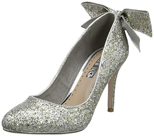 4d9fab1eb8b Miss KG Women s Coral Closed-Toe Heels  Amazon.co.uk  Shoes   Bags
