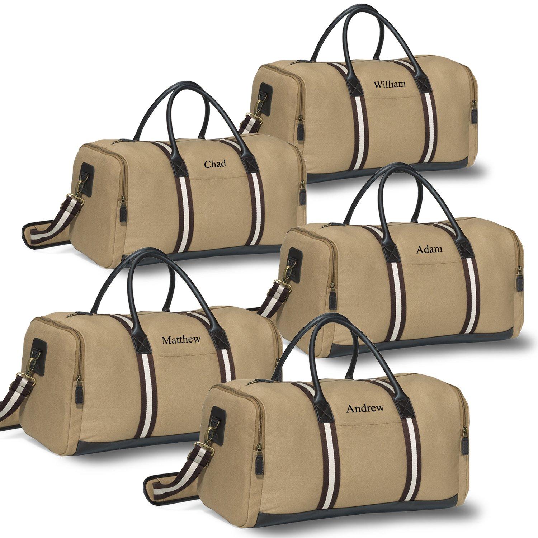 Heritage Supply Duffel Bag - Khaki - Set of 5