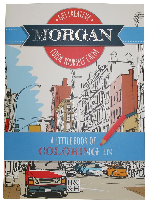 Coloring Books Morgan Drawing Book John Hinde Gifts 203000401