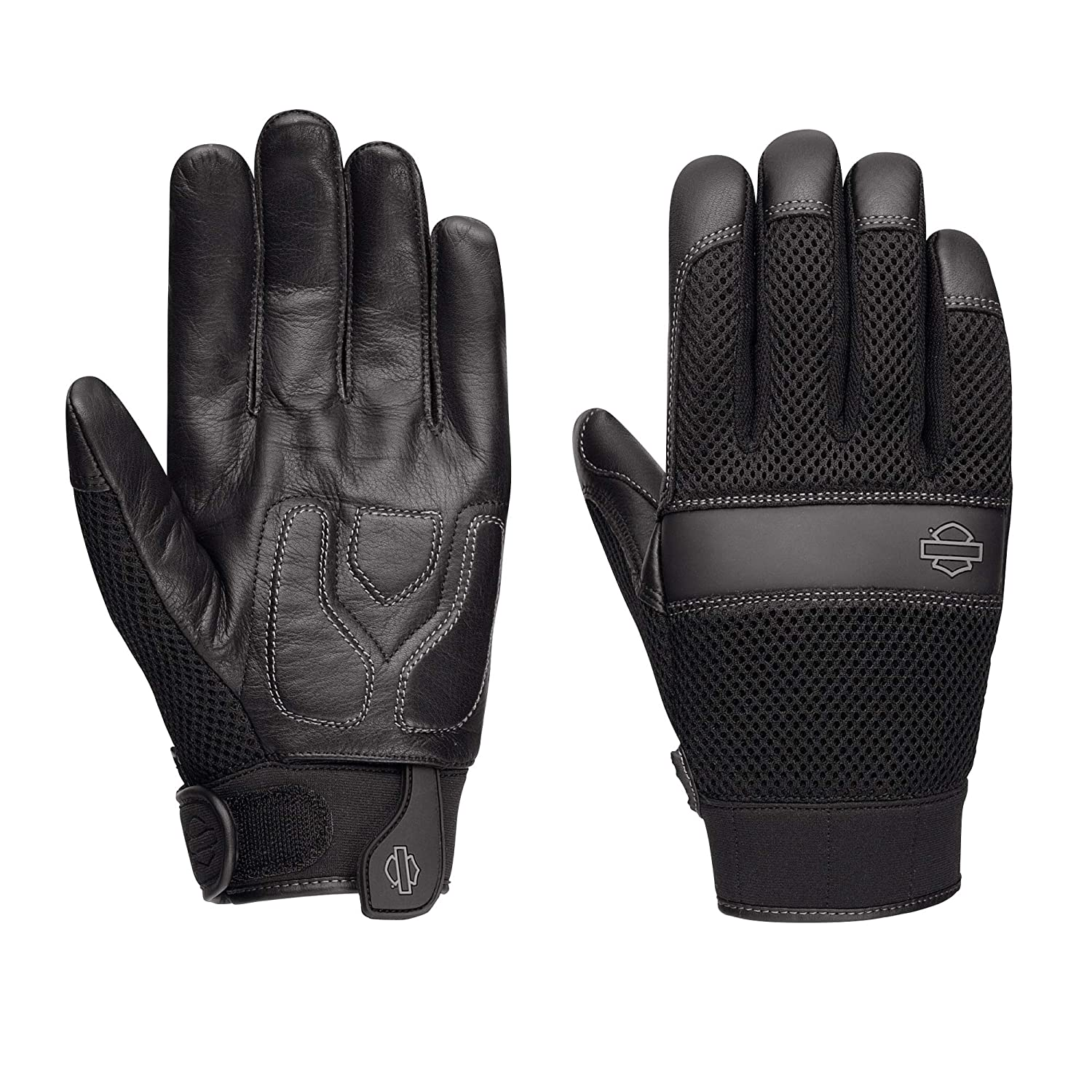 Harley-Davidson Official Men's Removable Pad Gloves