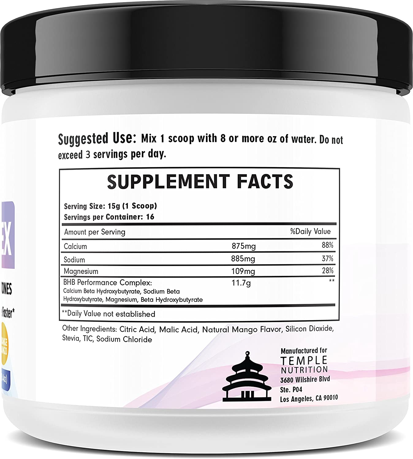 Amazon.com: KETO COMPLEX Exogenous Ketones - BHB Salts / Ketone - Premium Beta Hydroxybutyrate - Ketogenic Supplement - Top Ketosis Diet Supplements: Health ...