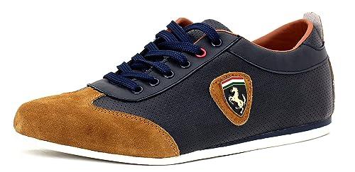 Zapatillas Informales Para Hombre De Piel Con Cordones Vestido Inteligentes Zapatos Núm. Chaussures Pour Hommes Chaussures Habillées En Cuir Avec Des Lacets Intelligents Non. Ru - Negro/marrón, 9 Uk / 43 Eu Ru - Noir / Brun, 9 Fr / 43 Eu