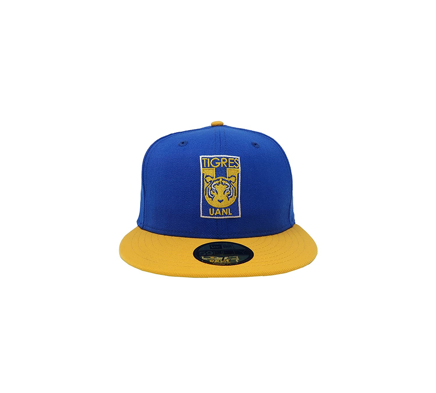 New Era 59Fifty Hat Tigres De Monterrey Soccer Club MX League Blue/Gold Fitted Cap at Amazon Mens Clothing store: