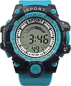 Sport Kids Watch For Boys Digital Rubber - 4456