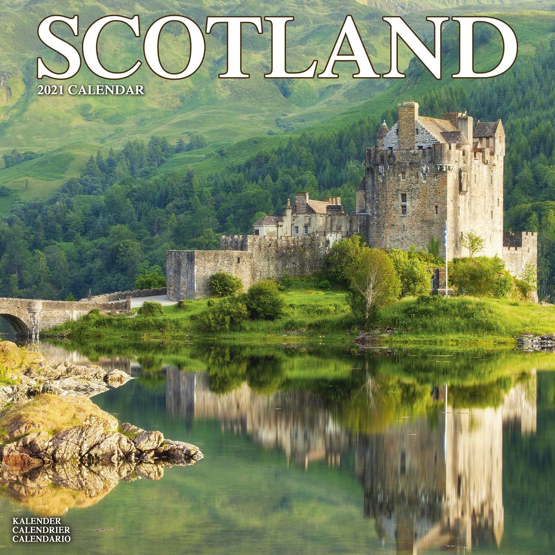 Scotland Calendar   Calendars 2020   2021 Wall Calendars   Photo
