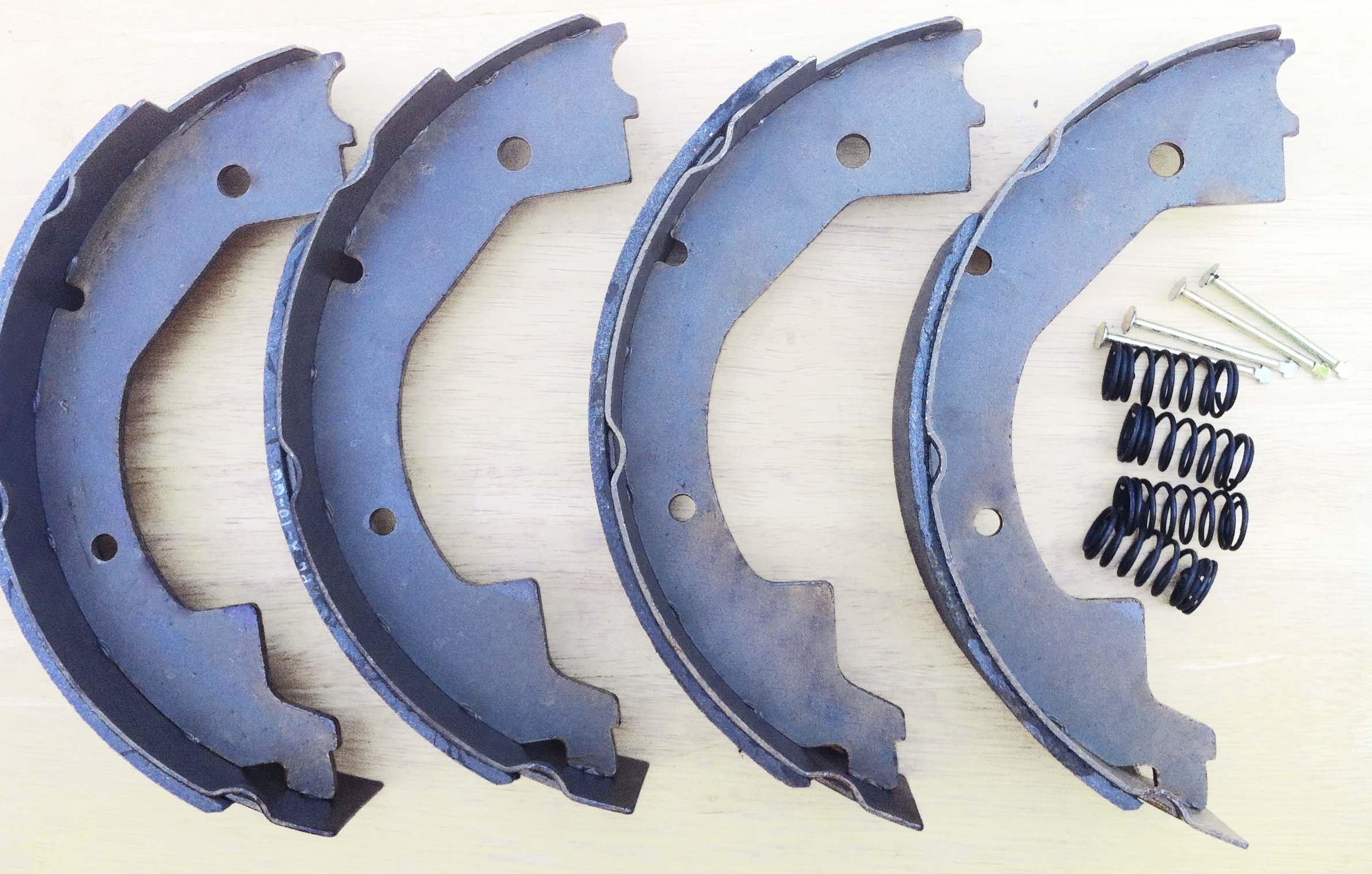 LIBRA 10'' X 2-1/4'' trailer brake shoes replacement kits (2 pairs) - 21028/21042