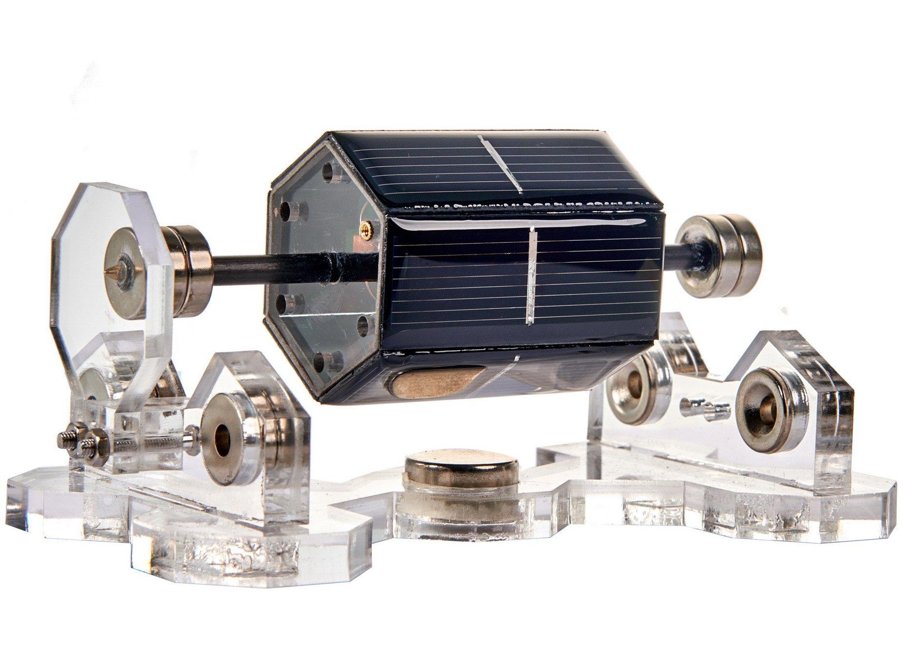Sunnytech Solar Magnetic Levitation Model Levitating Mendocino Motor Educational Model ST35