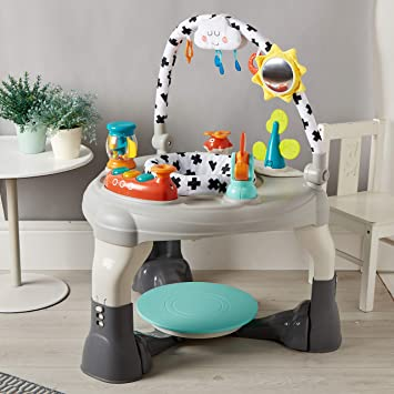 Nouveau mychild ma Charmante World 3 en 1 Activity Centre Bouncer and play table 6mth