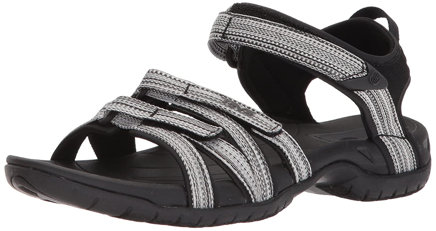 Teva Women's Tirra Athletic Sandal B072JWXTQQ 10 B(M) US|Black/White Multi