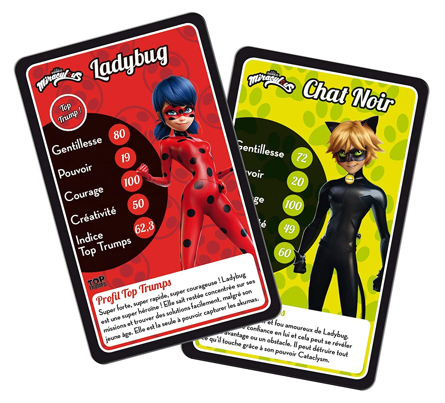 Amazon.com: Movimientos ganadores: Top Trumps Miraculous ...