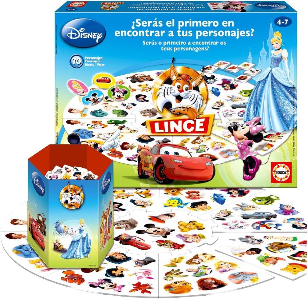 Educa Borrás 15337 - Nuevo Lince Disney 2012: Amazon.es: Juguetes ...