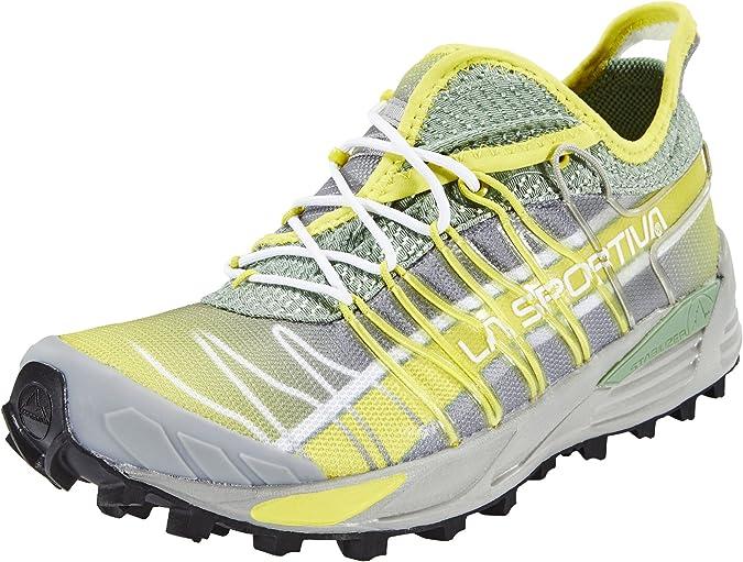 La Sportiva Mutant - Zapatillas para correr - amarillo/gris Talla 39 2017: Amazon.es: Zapatos y complementos