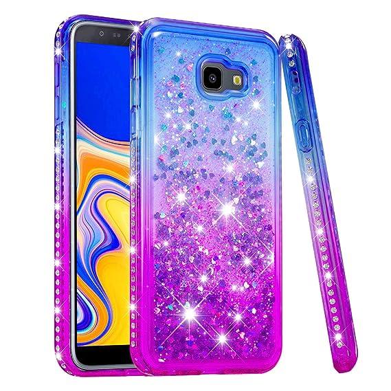 new arrival 6a26f 2b4d6 Amazon.com: Galaxy J4+ Plus Case, Samsung Galaxy J4+ Plus Glitter ...