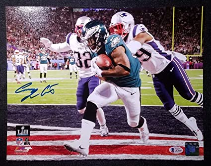 b32b434b78b Corey Clement Autographed Signed 11 X14 Photograph With Beckett Cert ...