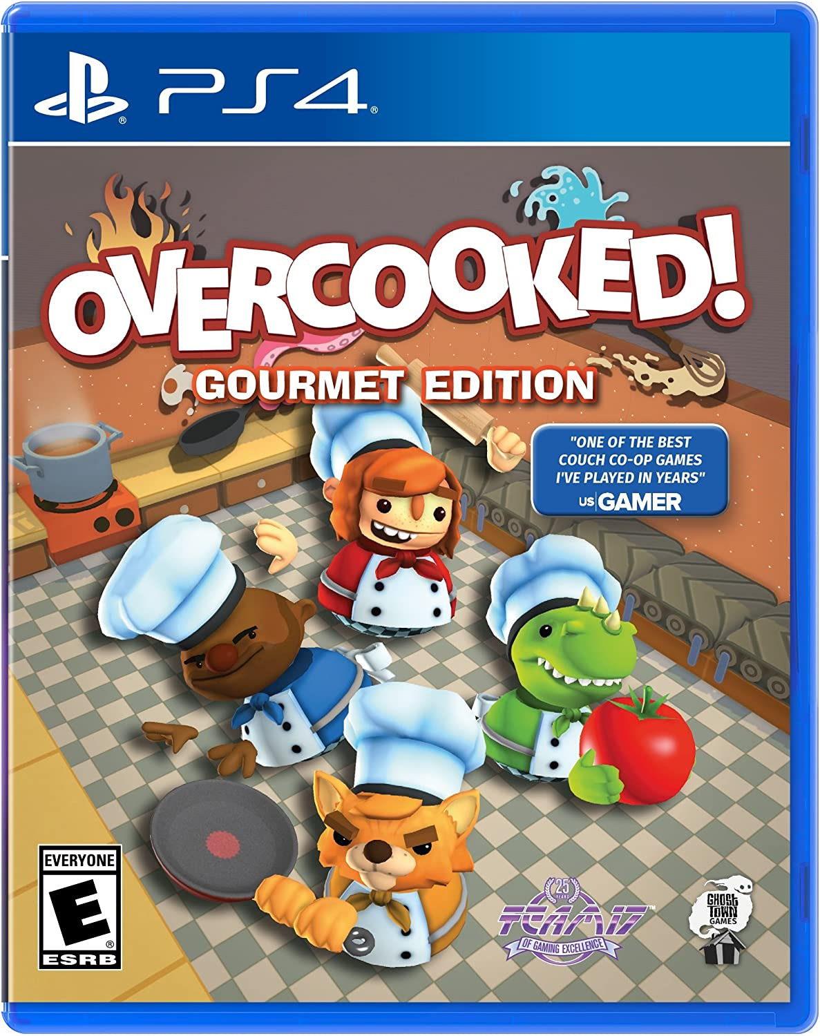 Overcooked - PlayStation 4 (xam)