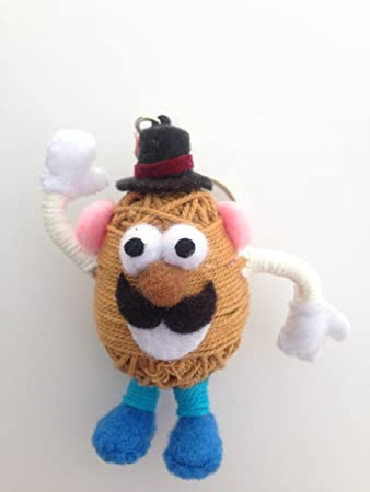 Amazon.com: MR. Potato Head Cadena Llavero con muñeca ...