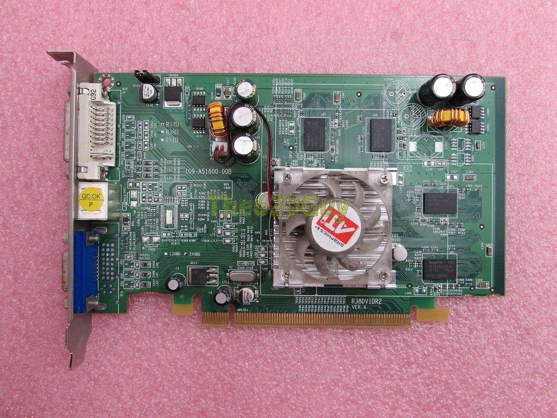 ATI Radeon X1050 GPU 256MB DDR 128-Bit DX9 VGA/DVI/TV Out PCIe x16 Video Card