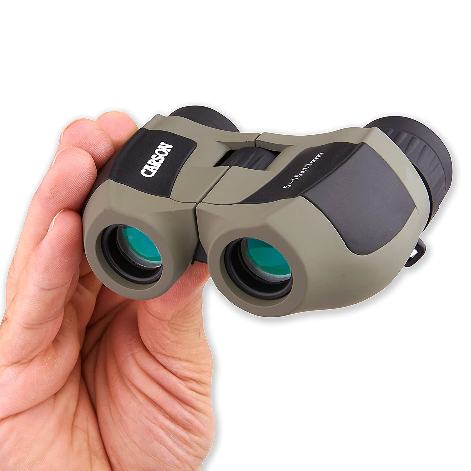 Amazon.com: Carson MiniZoom 5-15x17mm Ultra Compact and Lightweight Zoom  Binoculars for Travel, Bird Watching, Hiking, Camping, Surveillance,  Sight-Seeing, ...