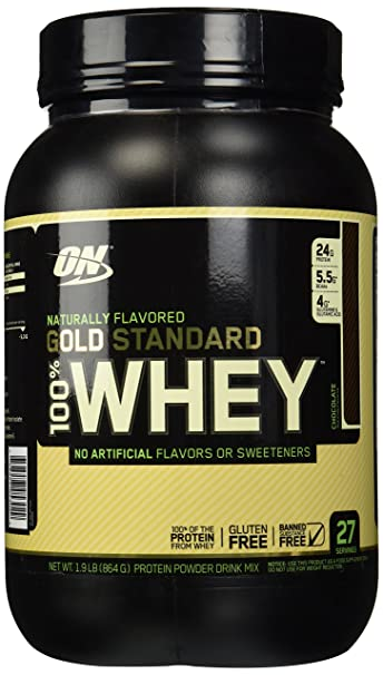 f6058f1dd Image Unavailable. Image not available for. Color  Optimum Nutrition Gold  Standard Naturally Flavored 100% Whey Chocolate (1.9 lb)