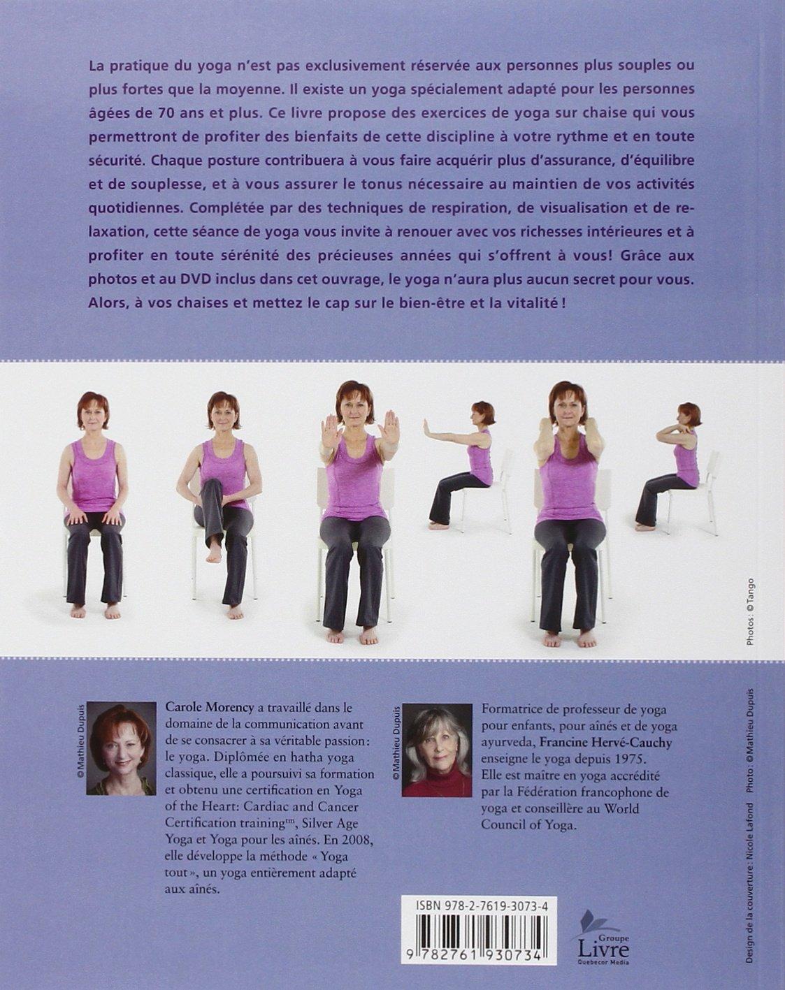 Yoga Tout Le Yoga Aines Dvd 9782761930734 Amazon Com Books