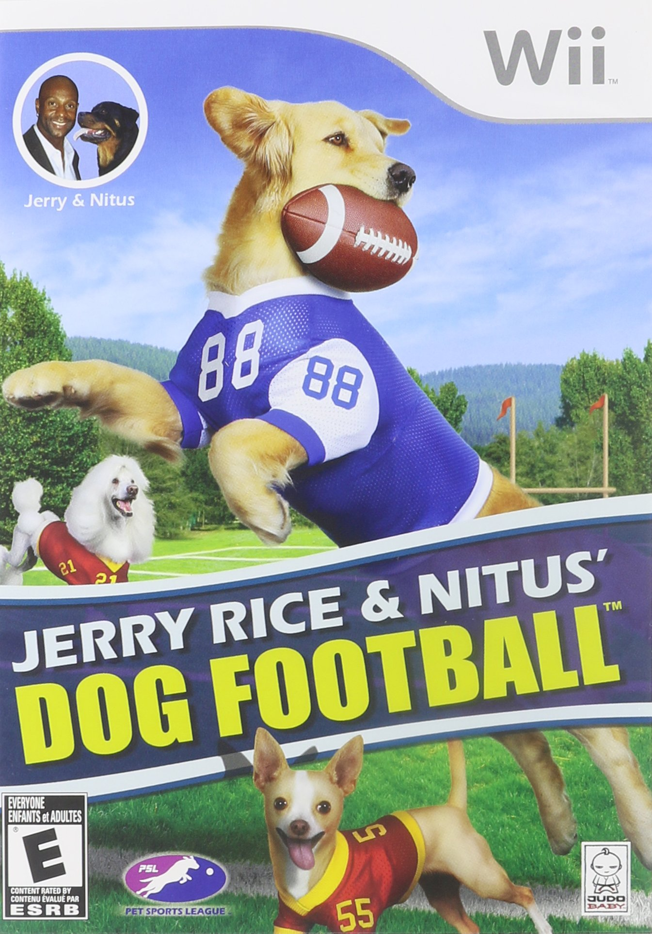 Jerry Rice & Nitus' Dog Football by Judobaby (Image #1)