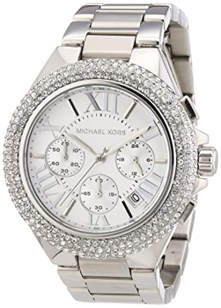 8a15f21b94d4 Amazon.com  Michael Kors MK5634 Women s Chronograph Camille Stainless Steel Bracelet  Watch  Michael Kors  Watches