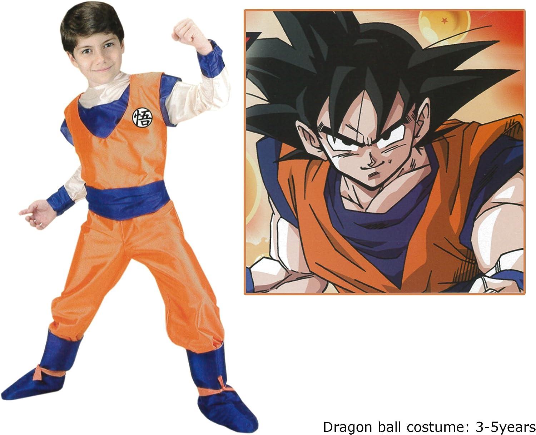 Disfraz de Goku™ Dragon Ball Z™, para niño - 3-4 años: Amazon.es ...