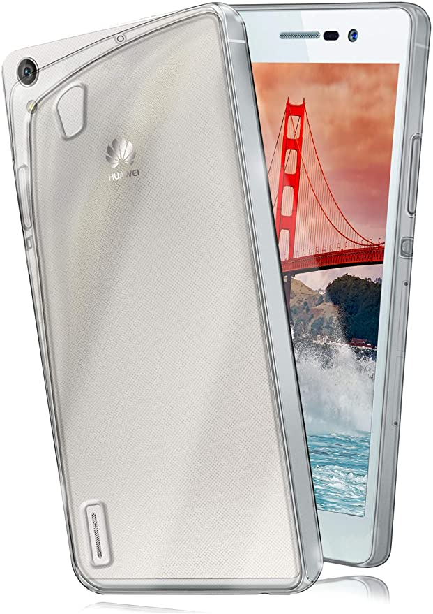 2 opinioni per moex Cover di Protezione Huawei P7 Custodia Case Silicone Sottile 0,7mm TPU |