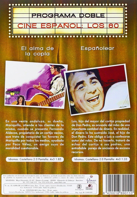 Alma De La Copla Españolear Dvd Amazon Es Varios Cine Y Series Tv