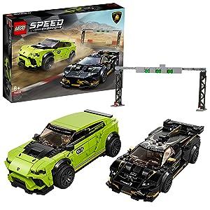 LEGO® Lamborghini Urus St X & Lamborghini Huracán Super Trofeo Evo (76899)