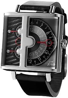 Xeric Mens Quartz Watch(Model: SSQ-3014-BLK)