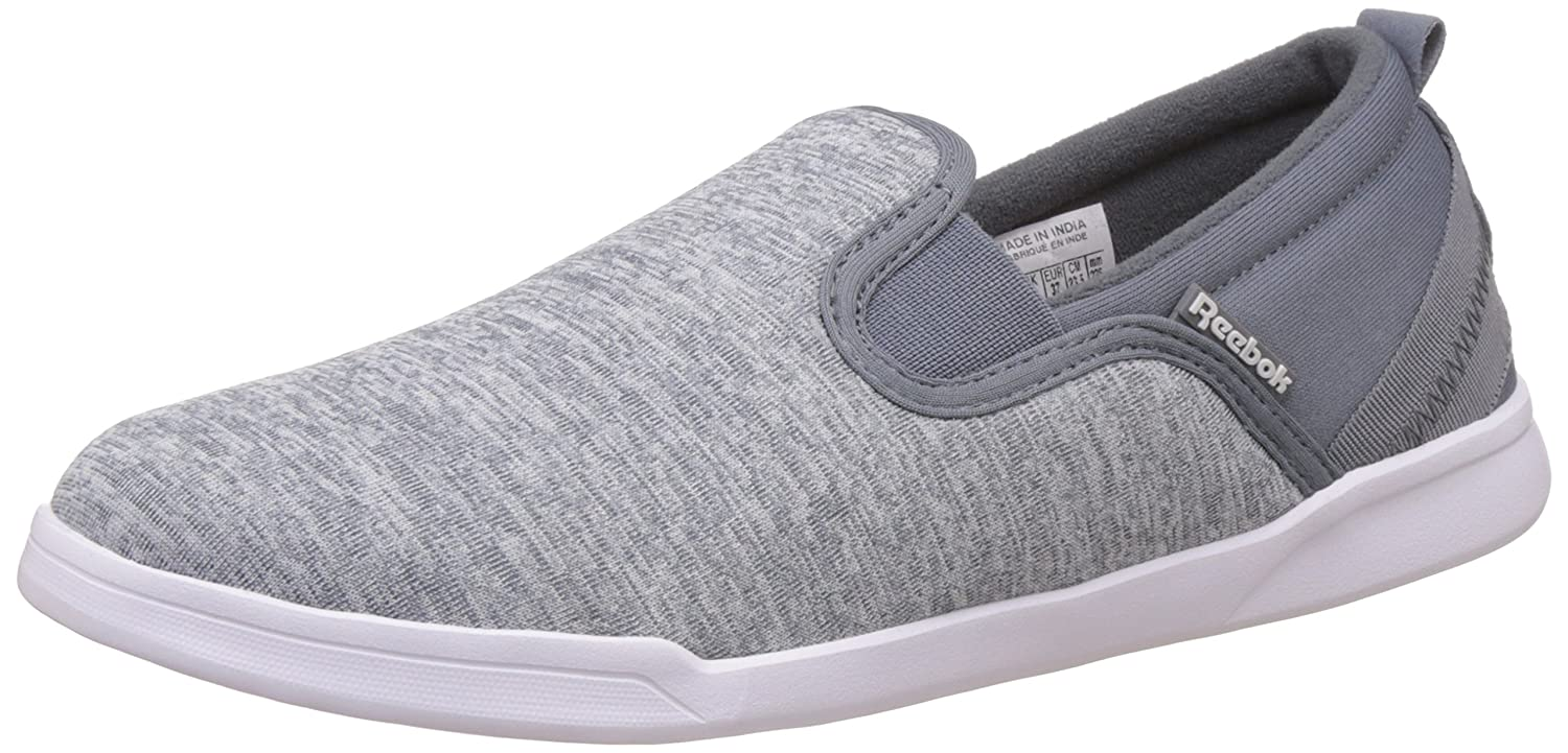 84cc95f8de8e81 Reebok Women s Court Slip St W Lp Asteroid Dust and White Loafers and  Moccasins -4 UK India (37 EU)(6.5 US)  Buy Online at Low Prices in India -  Amazon.in