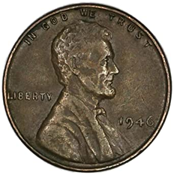 1946 Wheat Penny : Look for these rare coins worth money.