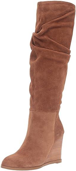 Women's Boots/french connection tan suede chevron split rf4x35m1